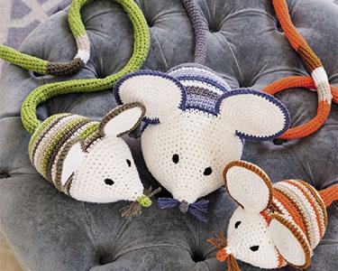 Familie Maus aus Lieblingstiere häkeln von GU