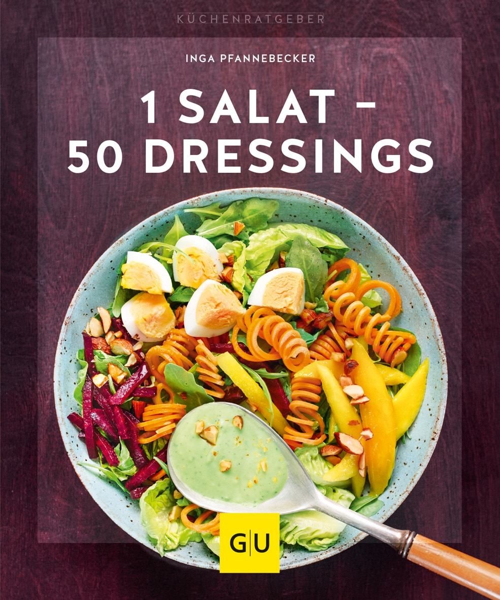 1 Salat - 50 Dressings - Buch (Softcover)
