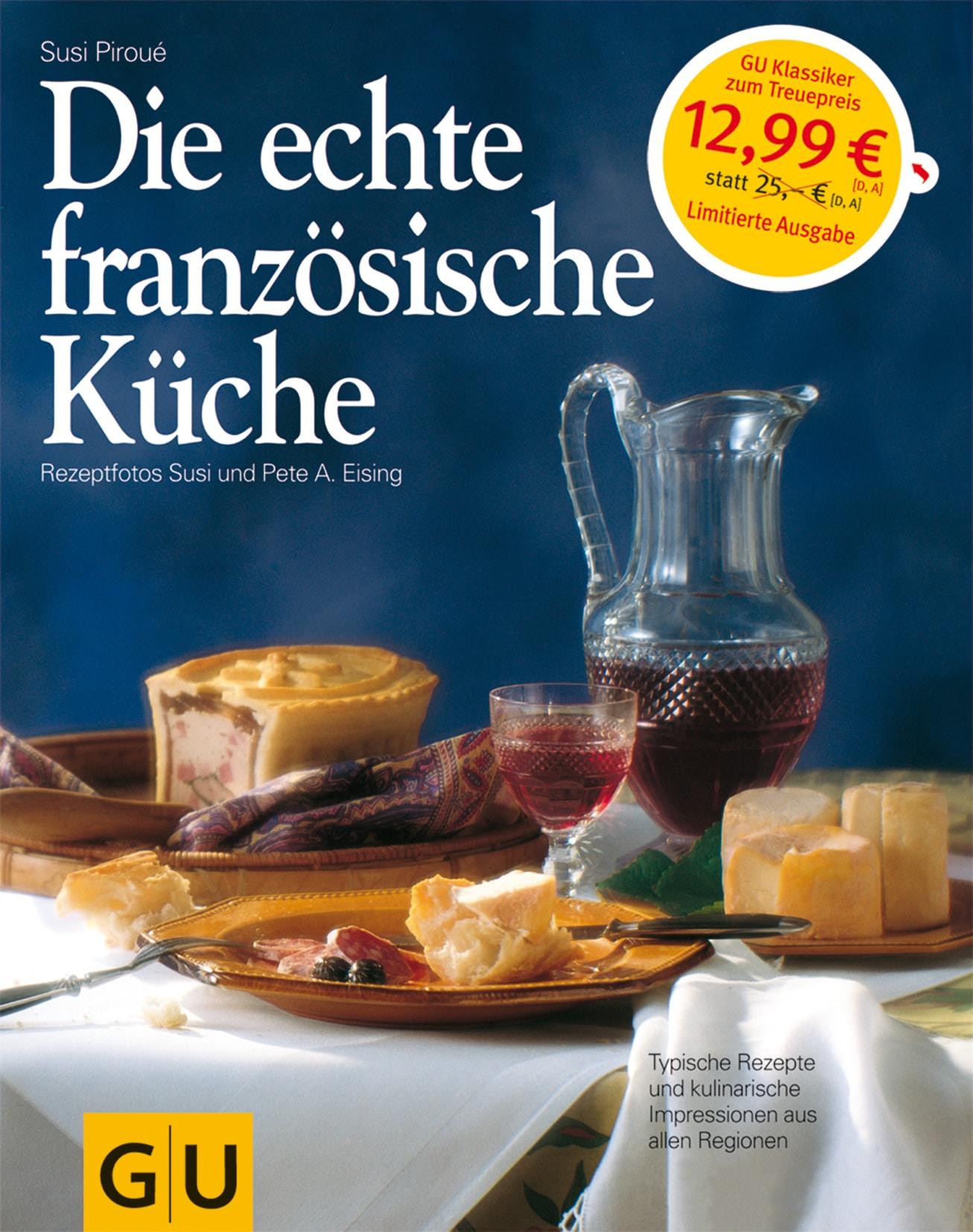 Die echte französische Küche - Buch (Hardcover)