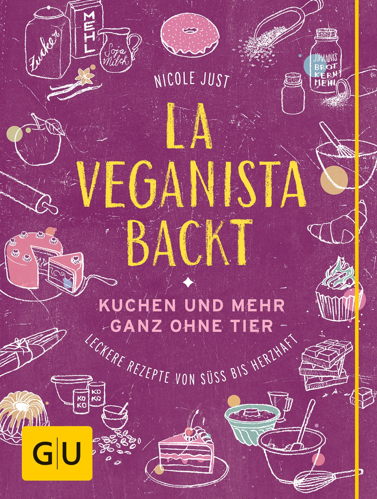 La Veganista backt - Buch (Hardcover)