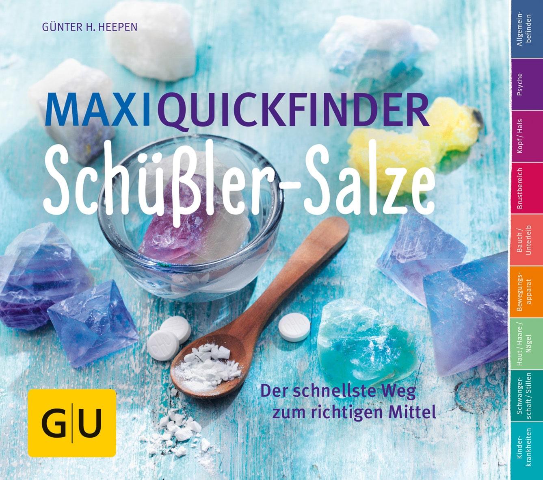 Maxi-Quickfinder Schüßler-Salze - Buch (Softcover)
