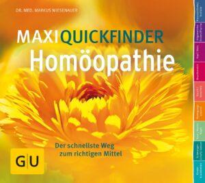 MaxiQuickfinder Homöopathie - Buch (Softcover)