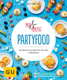 Mix & Fertig - Partyfood - Buch (Softcover)