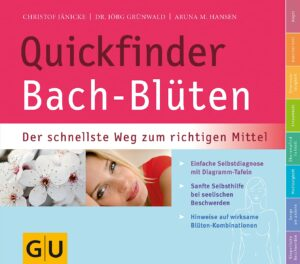 Quickfinder Bach-Blüten - Buch (Softcover)
