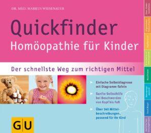 Quickfinder- Homöopathie für Kinder - Buch (Softcover)