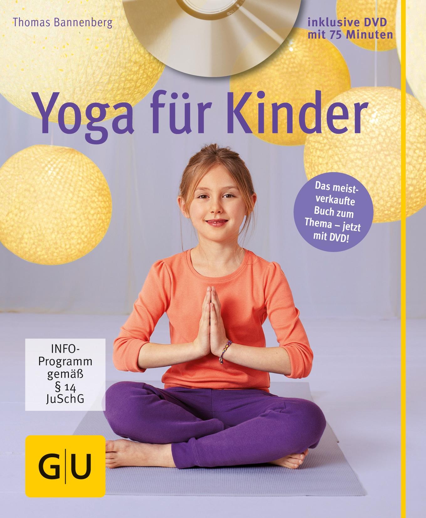 Yoga für Kinder (mit DVD) - Buch