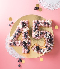 Limetten Brombeer Kuchen