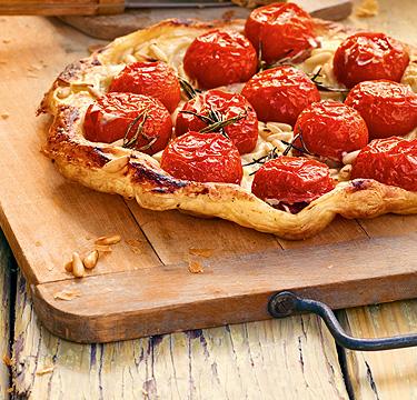 Kochbuch - Italienische Küche - Tomatenquiche