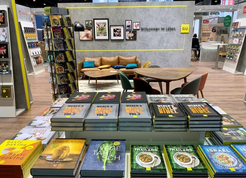 Frankfurter Buchmesse 2019 - Stand GuU