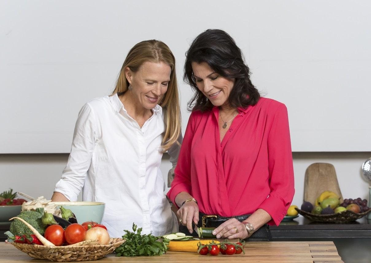 Julie Gorkow und Marion Kiechle
