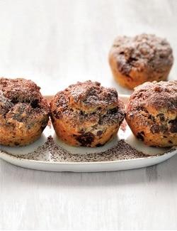 Schoko-Mandel-Muffins