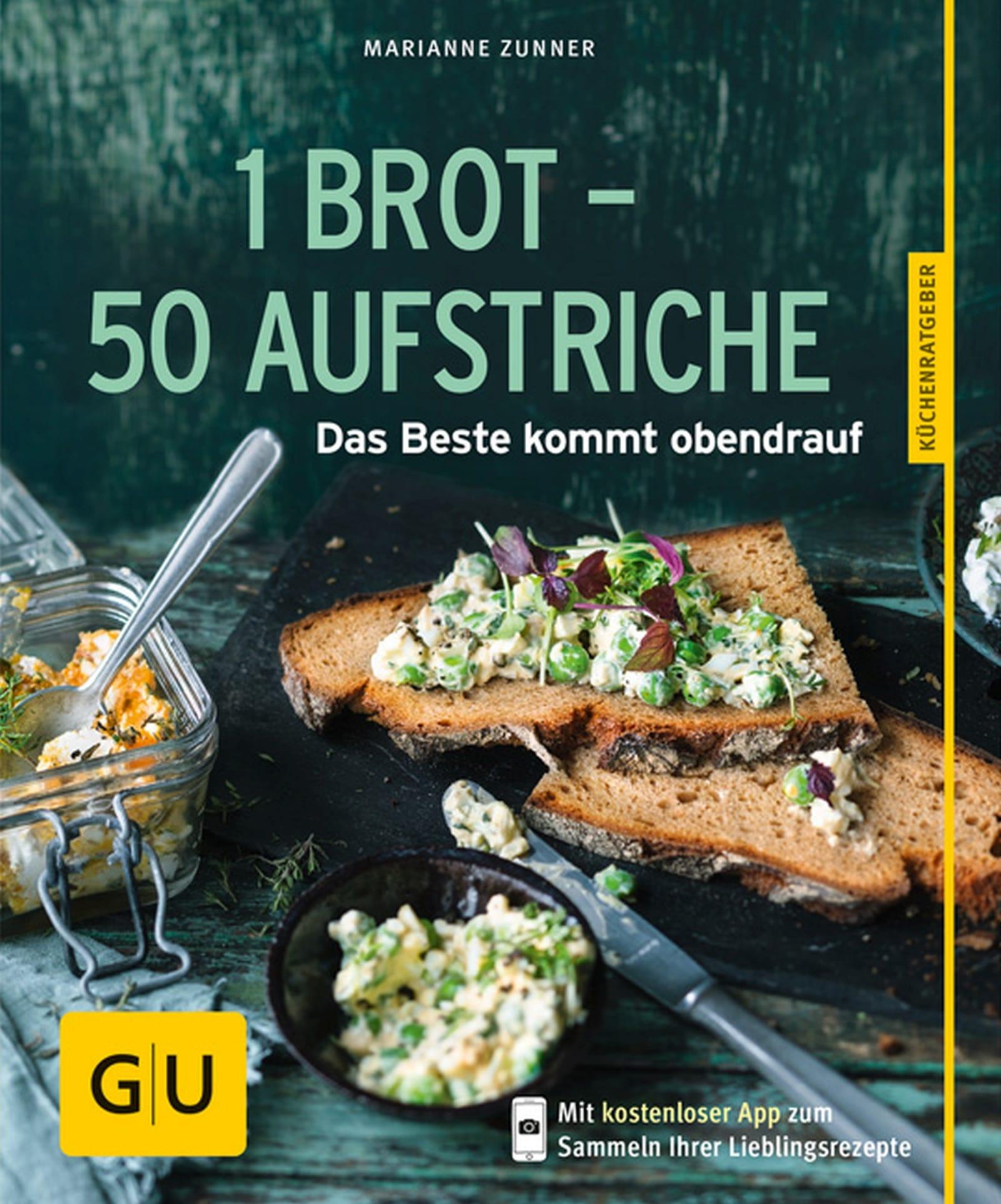1 Brot 50 Aufstriche Marianne Zunner Gu Online Shop