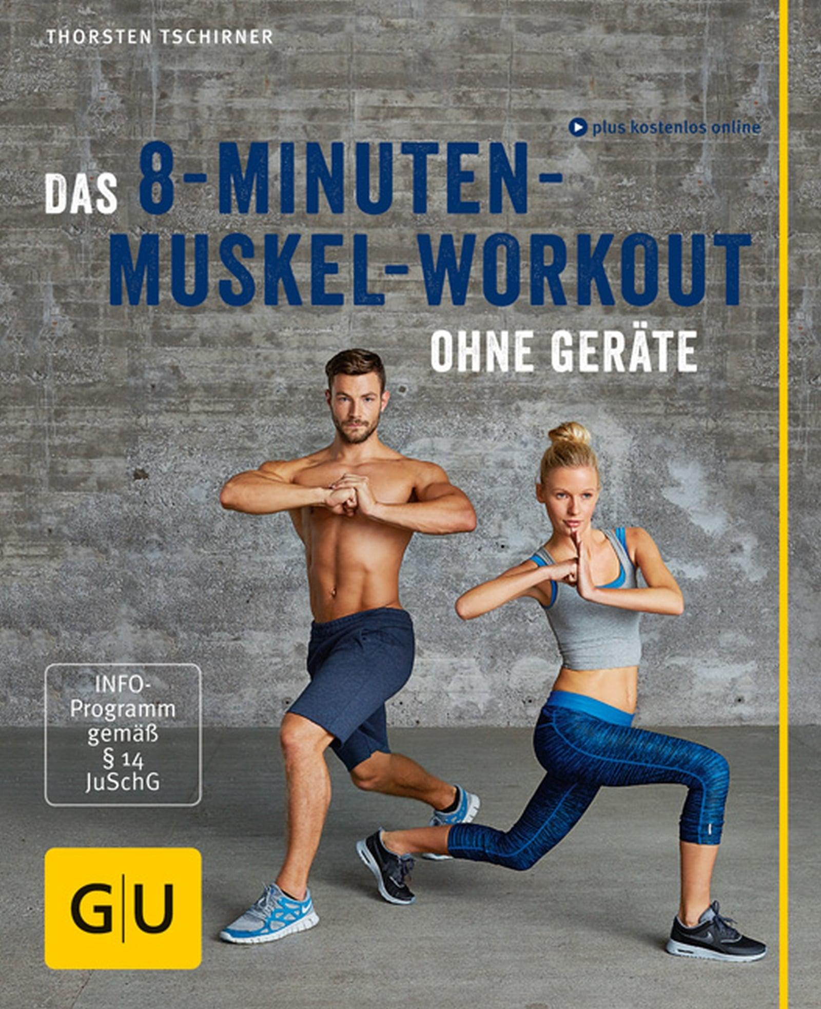 Das 8-Minuten-Muskel-Workout ohne Geräte