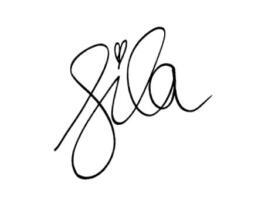 Sila Sahin Unterschrift