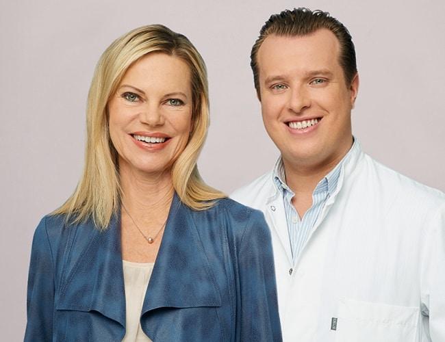 Nina Ruge und Dr. Dr. med. Dominik Duscher