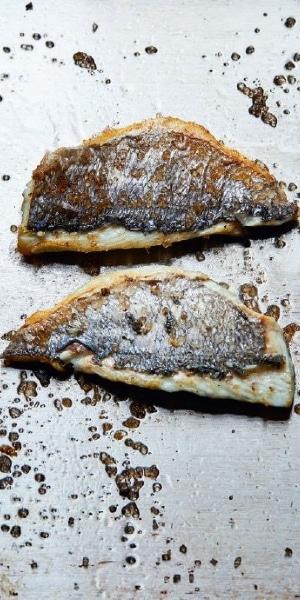 Uri Buri - gebratener Fisch