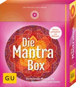 Die Mantrabox (Box mit Karten, Booklet und Audio-CD)