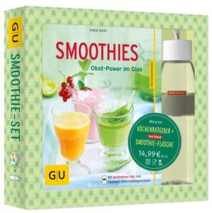 Smoothie-Set: Obst-Power im Glas und in der Flasche