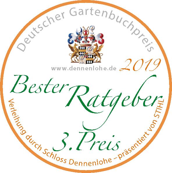 """Gewinner """"Bester Rargeber 3. Preis"""" 2019 - Deutscher Gartenbuchpreis"""