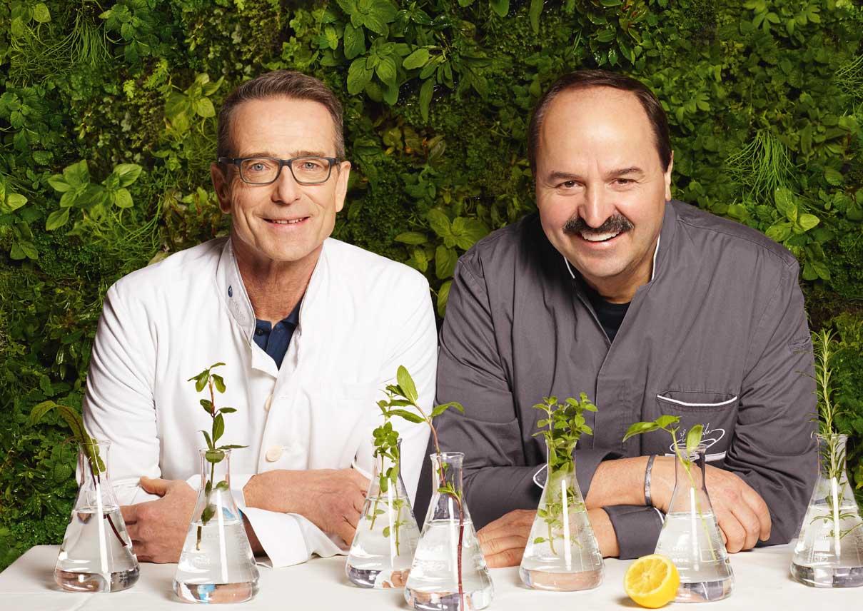 Johann Lafer und Matthias Riedl