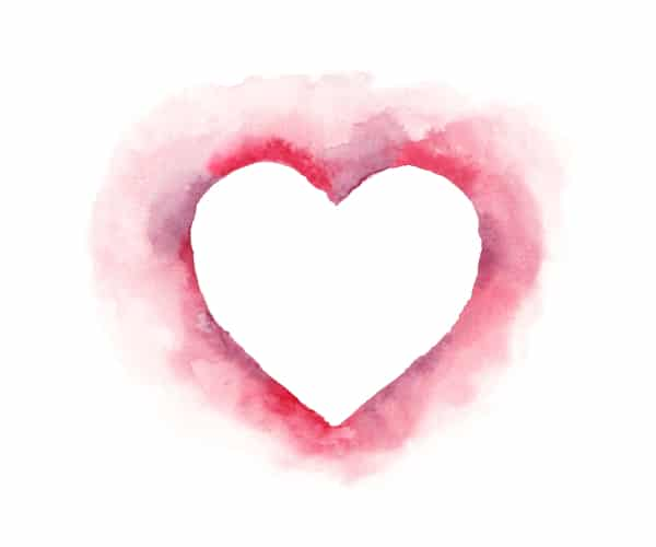 Herz Aquarell