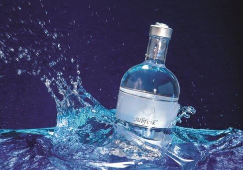 Gin-Flasche